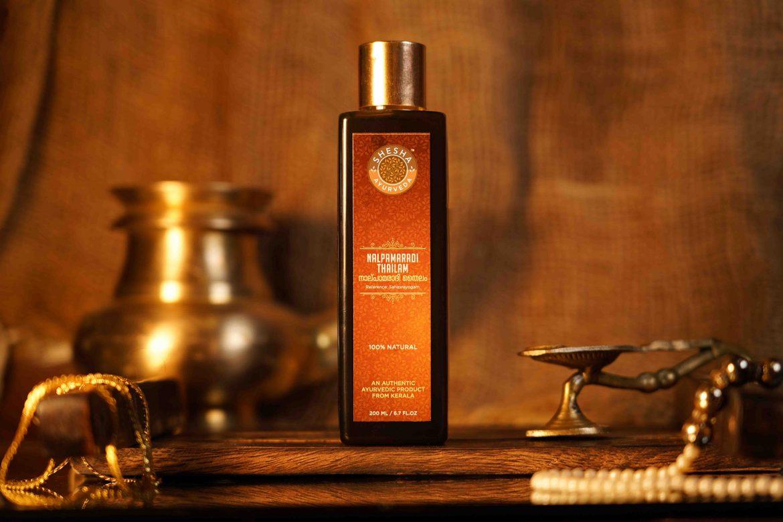 Buy Kerala Ayurveda Nalpamaradi Thailam Skin Brightening and De-Tanning Oil 200ml
