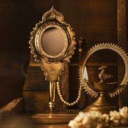 Buy Kerala Ayurveda Aranmula Mirror - The mysterious and miraculous mirror from Kerala